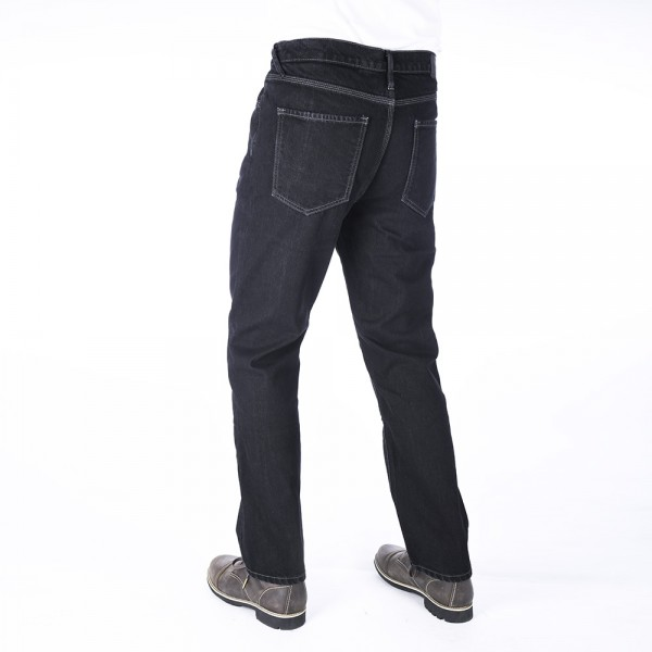 Oxford Original Approved Denim Jeans Straight Fit Black Regular Leg