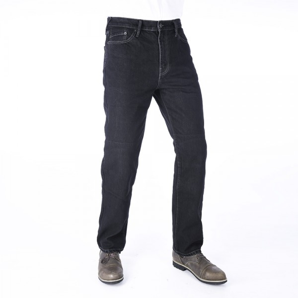 Oxford Original Approved Denim Jeans Straight Fit Black Short Leg