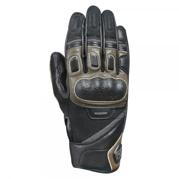 Oxford Outback Glove Brown & Black