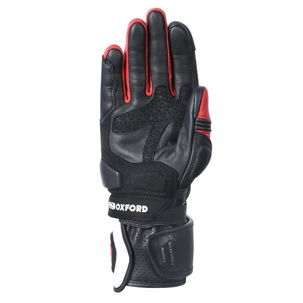 Oxford RP-2R Leather Gloves Black/White/Red