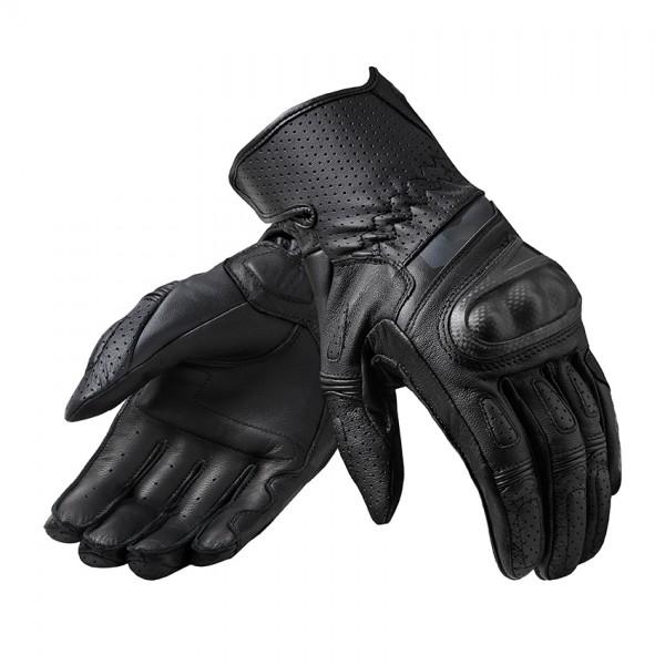 Gloves Chevron 3 Black