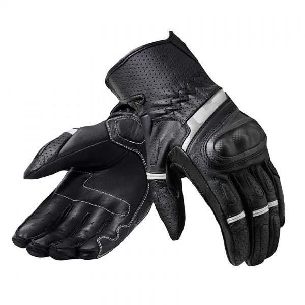 Gloves Chevron 3 Black-White
