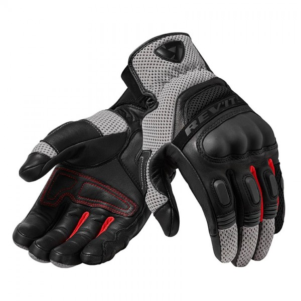 Gloves Dirt 3 Black-Red
