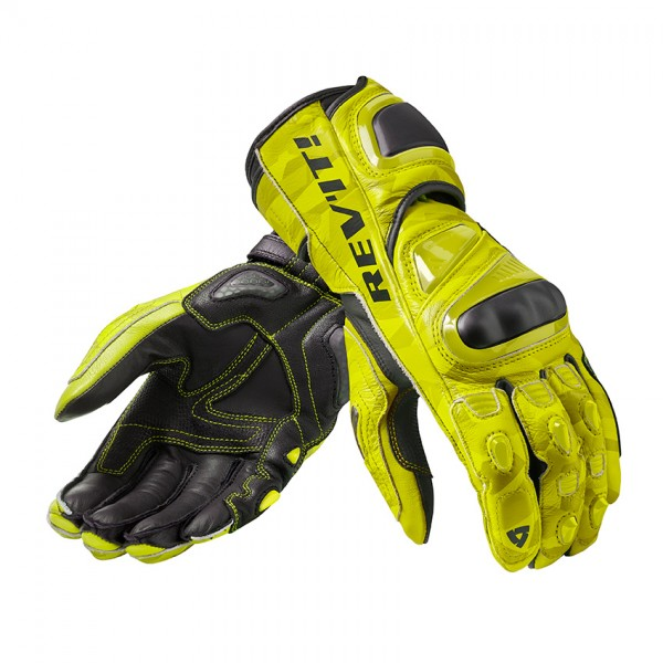 Gloves Jerez 3 Neon Yellow-Black