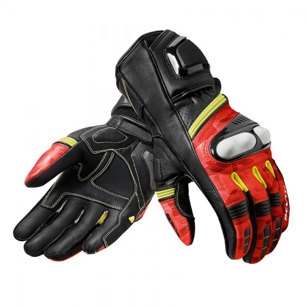Gloves League Black-Red