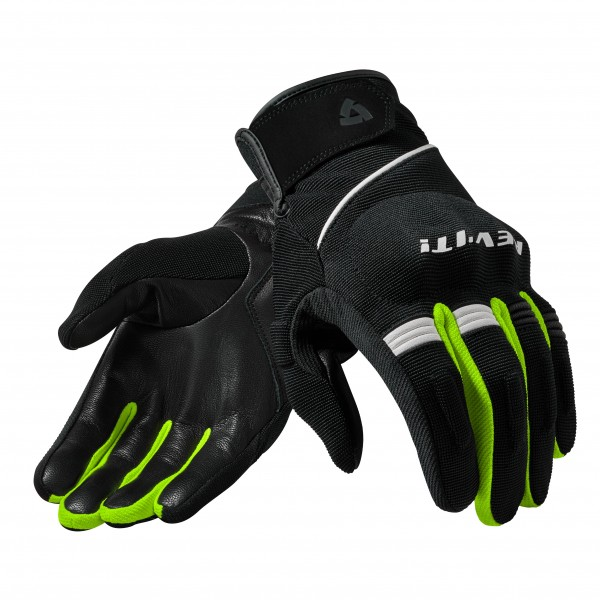 Gloves Mosca Black-Neon Yellow