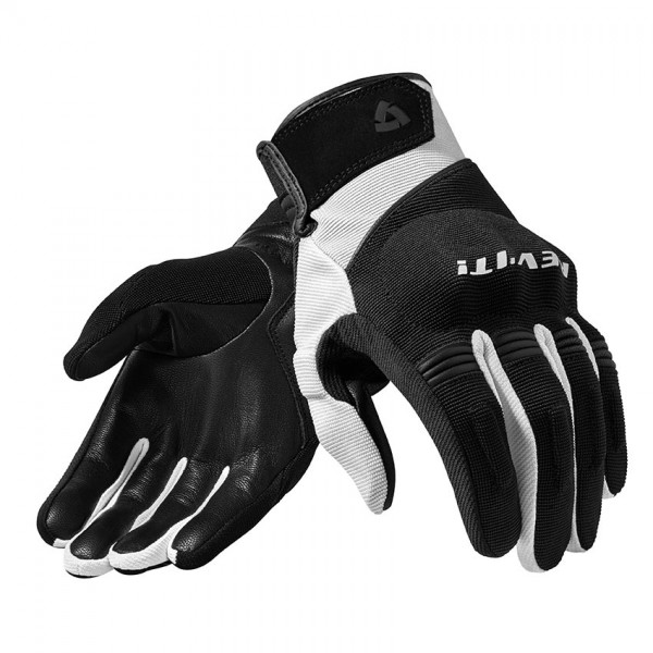 Gloves Mosca Black-White