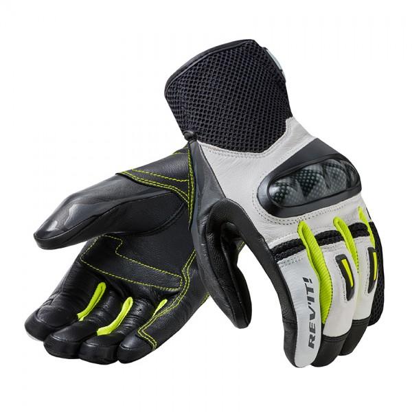 Revit Gloves Prime White-Yellow