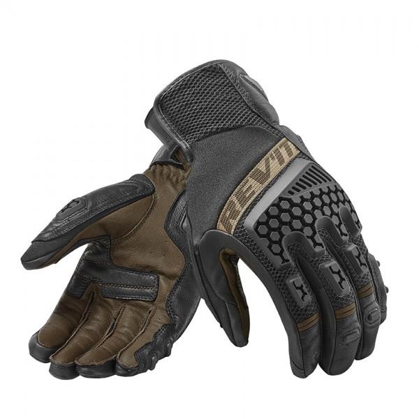Revit Gloves Sand 3 Black-Sand