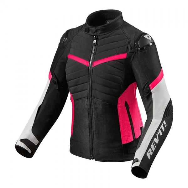 Jacket Arc H2O Ladies Black-Fuchsia