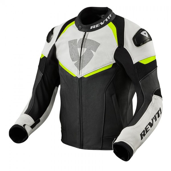 Jacket Convex Black-Neon Yellow