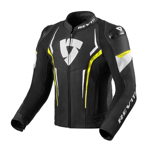 Revit Jacket Glide Black-Neon Yellow