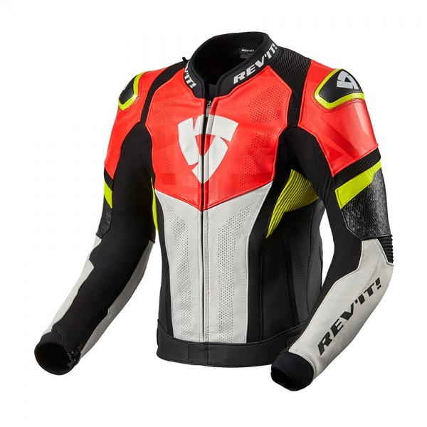 Jacket Hyperspeed Air Black-Neon Red