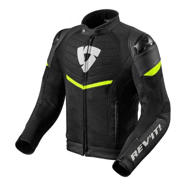 Jacket Mantis Black-Neon Yellow