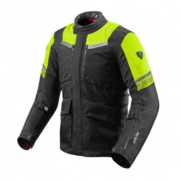 Jacket Neptune 2 GTX Black-Neon Yellow