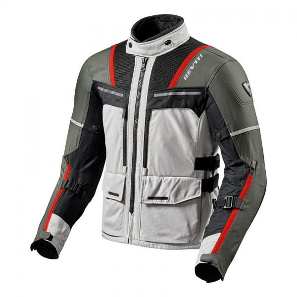 Jacket Offtrack Silver-Red