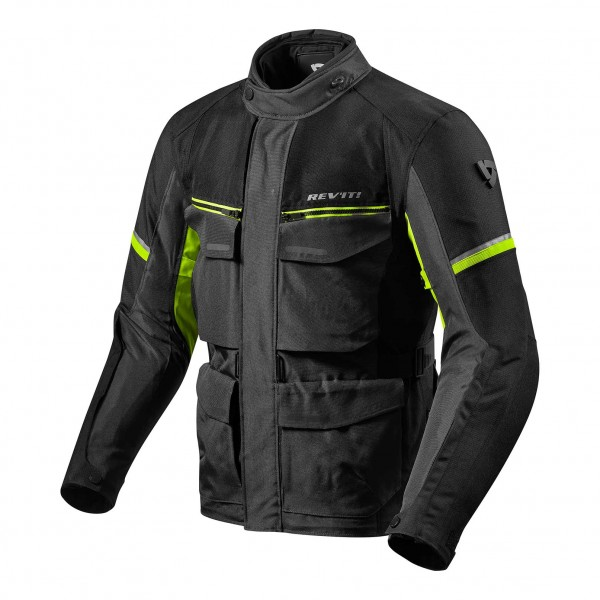 Jacket Outback 3 Black-Neon Yellow