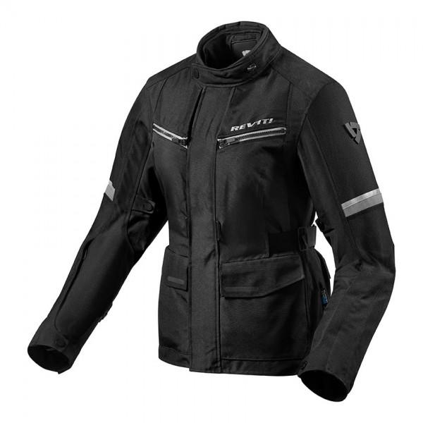 Jacket Outback 3 Ladies Black-Silver