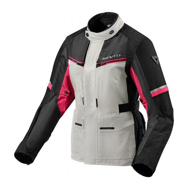 Jacket Outback 3 Ladies Silver-Fuchsia