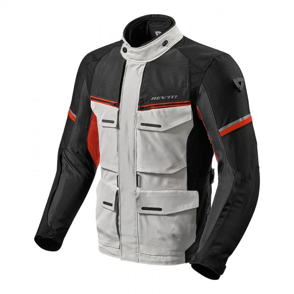 Jacket Outback 3 Silver-Red