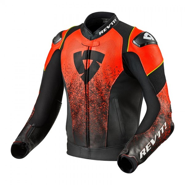 Jacket Quantum Air Black-Neon Red