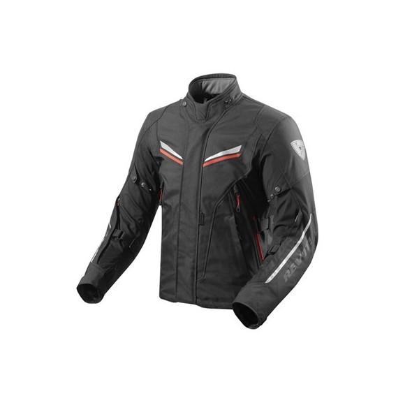 Revit Jacket Vapor 2 Black-Red