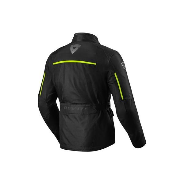 revit Jacket Voltiac 2 Black-Neon Yellow