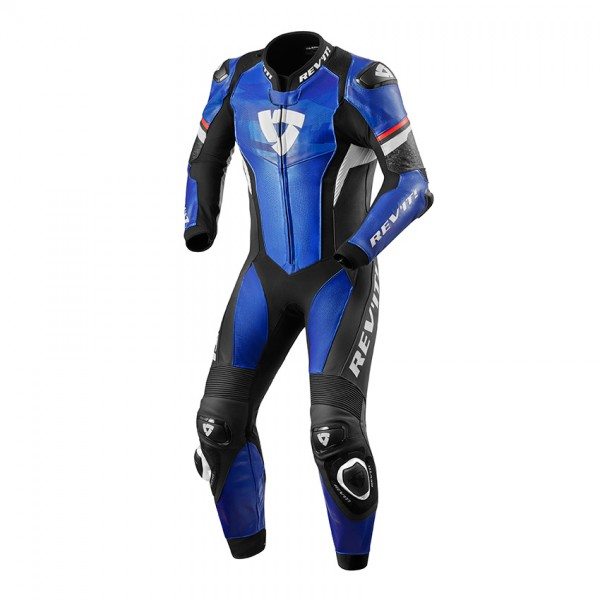 One Piece Suit Hyperspeed Blue-Black
