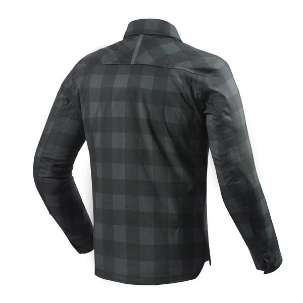Overshirt Bison Black-Grey