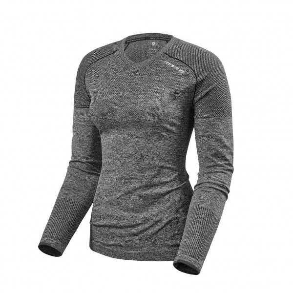 Revit Shirt Airborne LS Ladies Dark Grey