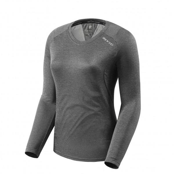 Revit Shirt Sky LS Ladies Dark Grey