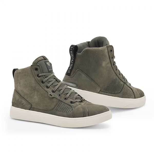Shoes Arrow Olive Green-White