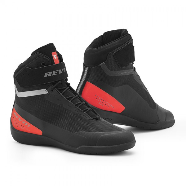 Shoes Mission Black-Neon Red