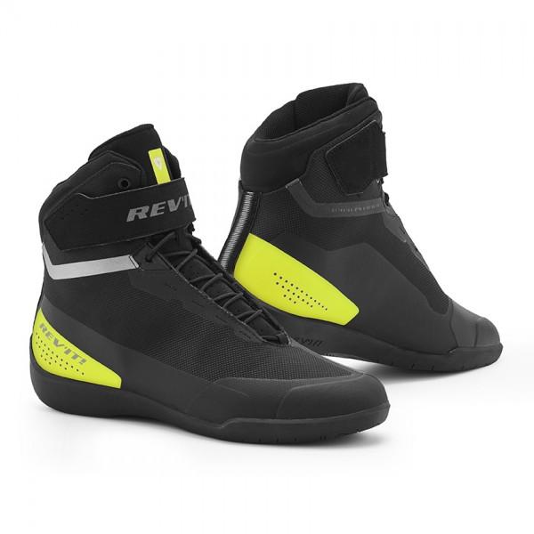 Revit Shoes Mission Black-Neon Yellow