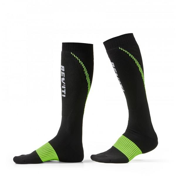 Revit Sock Trident Black-Yellow