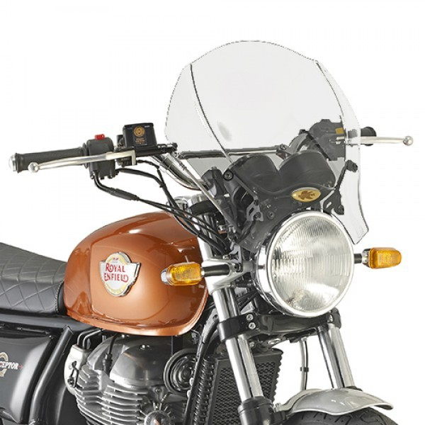 Royal Enfield Interceptor Clear Screen