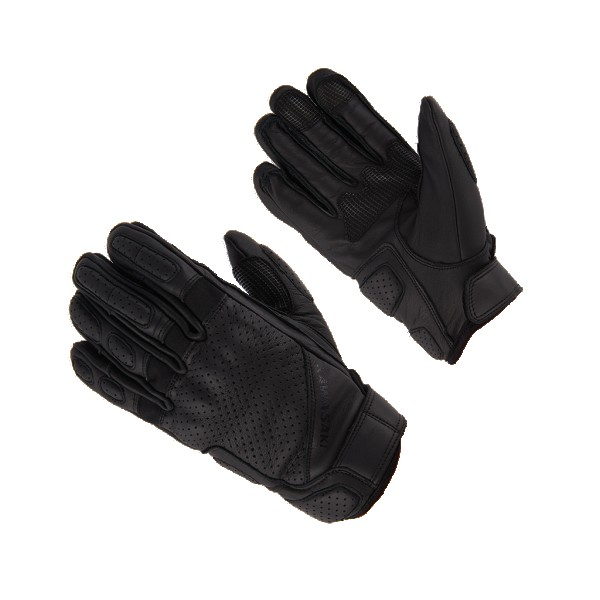 Kawasaki RS leather Gloves Black