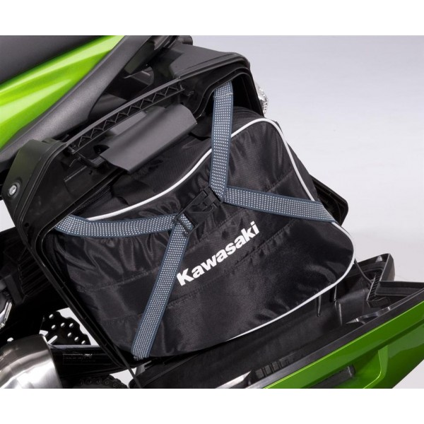 Kawasaki Pannier Covers (51P Candy Lime Green Type 3)
