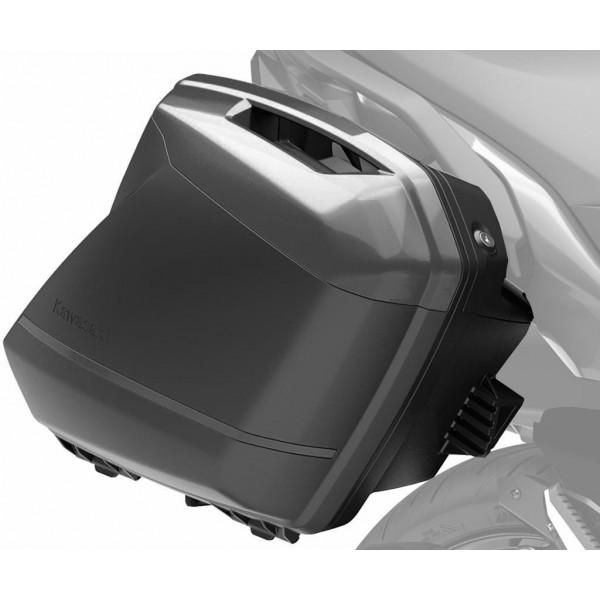 Kawasaki Pannier Covers (51A Metallic Carbon Gray)