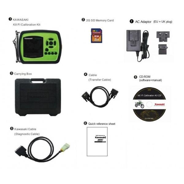 KX F.i. Tuning / calibration controller kit
