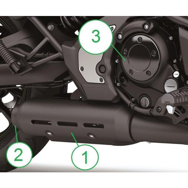 Chrome trim parts Vulcan S