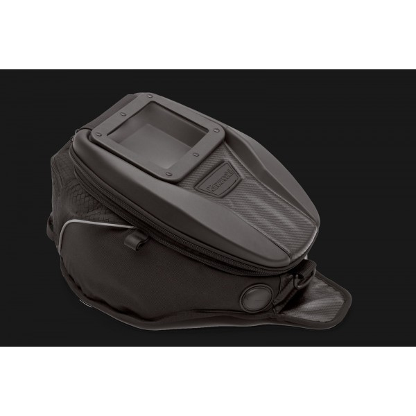 Tank bag with window
