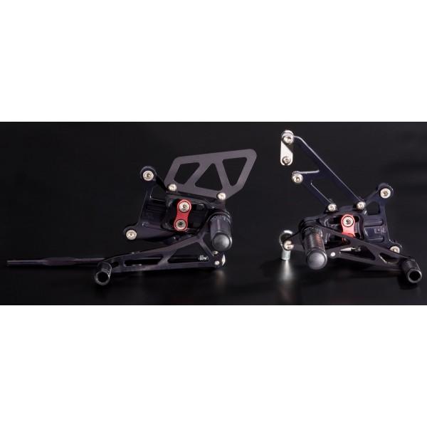 ADJUSTABLE FOOTRESTS ZX-10R 2011-2015