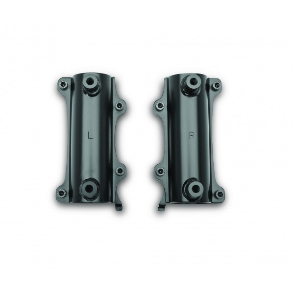 Kawasaki Vulcan S Fork bracket for windshield - Black