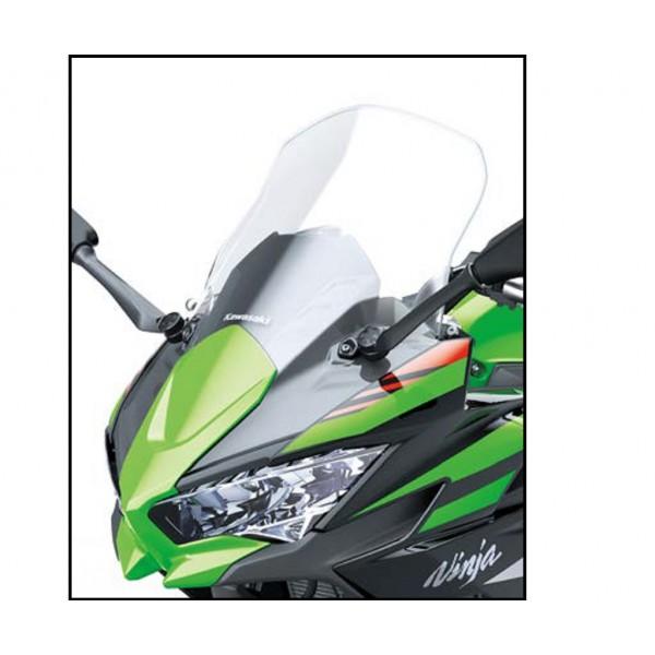 Kawasaki Ninja 650 Large touring windshield (Clear)