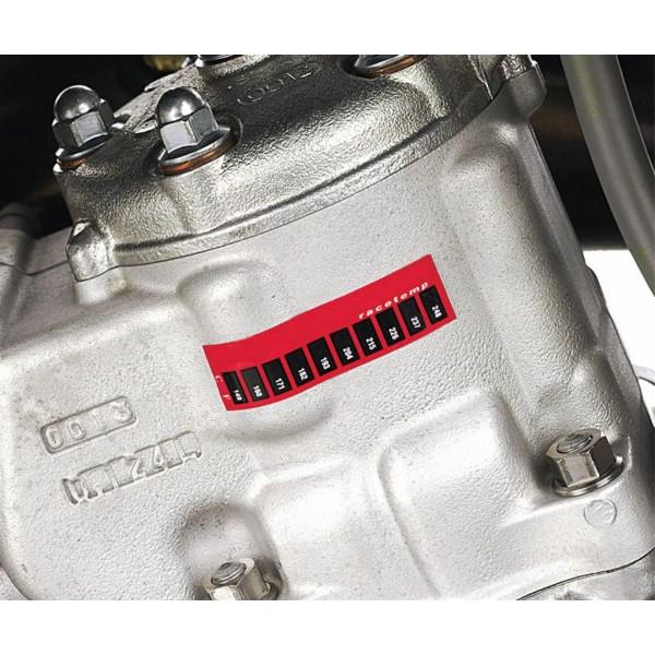 Kawasaki Temperature stickers (3)