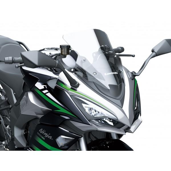 Kawasaki Ninja 1000SX Windshield - Smoke