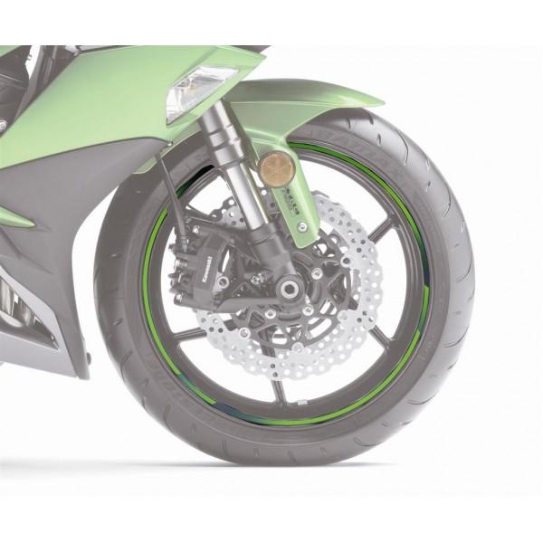 Kawasaki wheel rim tape Silver
