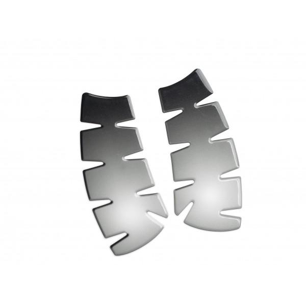 Kawasaki Knee pad - Metal look