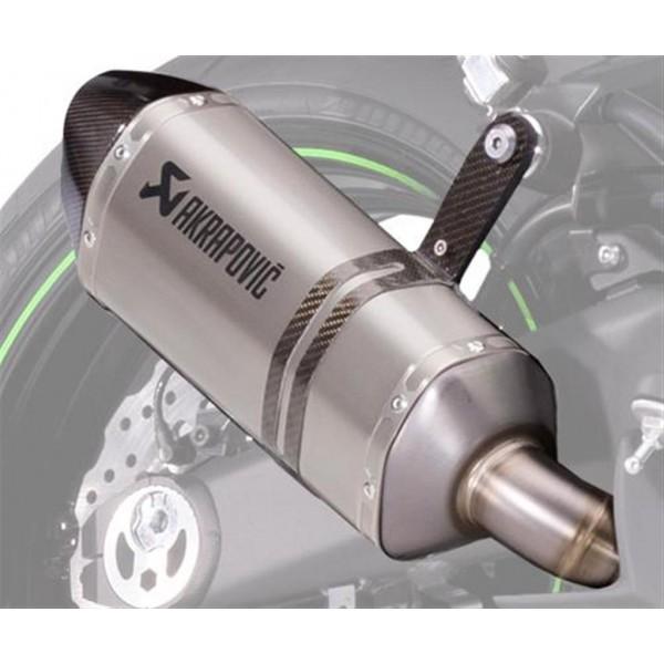 Akrapovic dual exhaust Titanium